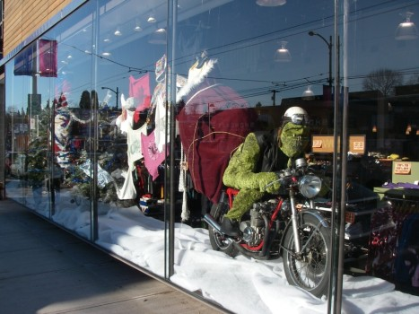 Vancouver B.C. - Pacific Boarders Window display