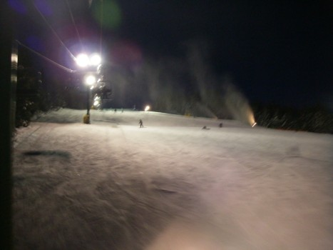 Grouse Mountain Night Scene