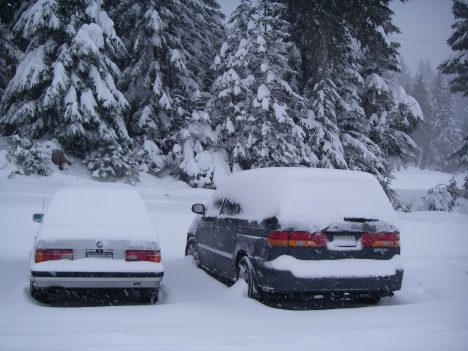 December 17, 2008 Big Snowstorm in Vancouver