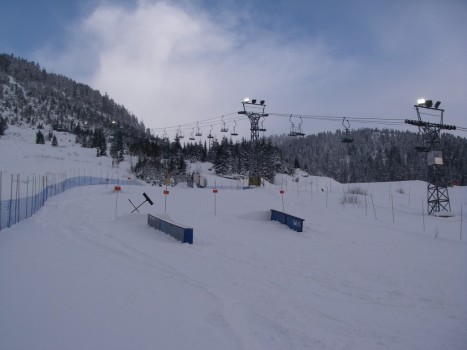 Cypress Mountain - Terrain Park