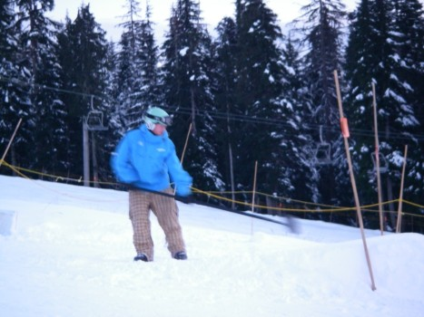 Cypress Mounatin Terrain Park Staffs - Prep for Store Wars